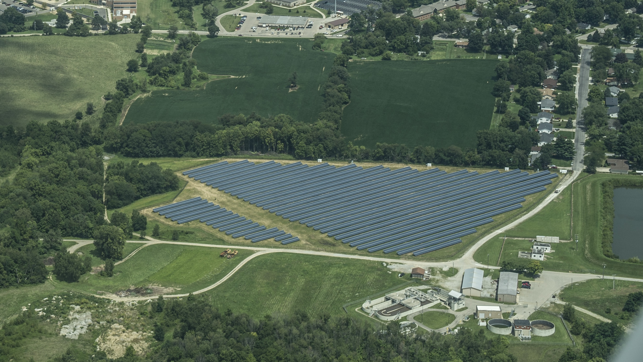 Cedarville University Announces Large Solar Power Installation