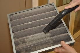 Checking HVAC filters for positive building pressure