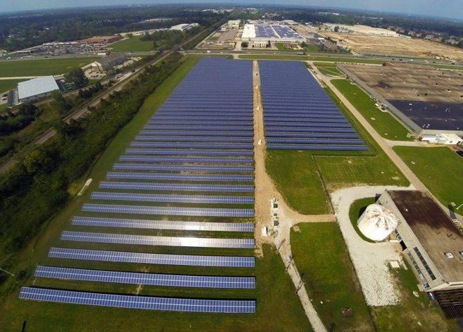 Indianapolis solar panel installation