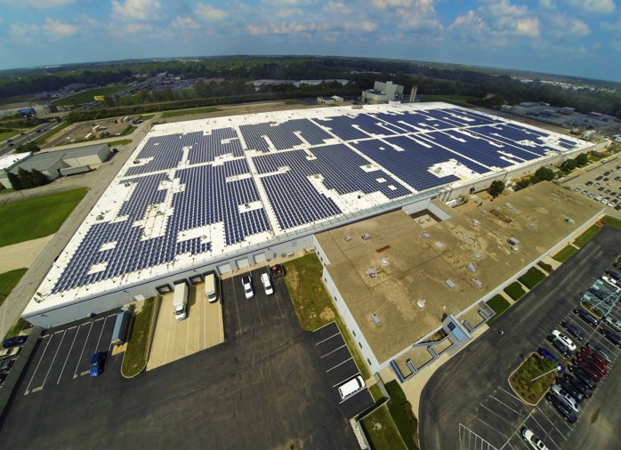 Equity Industrial Partners Solar Array Indianapolis